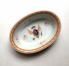 Antique Chinese Export Armorial Porcelain Bowl, Romanov Imperial Russian