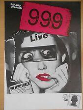 999  --  NINE NINE NINE  1980 -- TOUR orig.Konzert-Poster DIN A1 -- 33x22 INCH