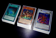 Yugioh Complete Six Samurai Deck + Ultra Pro Sleeves! Tournament Ready! Links!!!