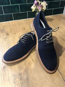 Aquilla Blue Suede Shoes Size 44