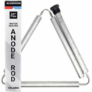 Aluminum & Zinc Flexible Water Heater Anode Rod (44-inch) by Kelaro - Stops...
