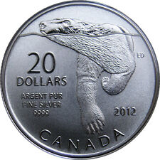 Canada - 20 Dollars - $20 for $20 - Polar Bear (2012) - Silver 9999