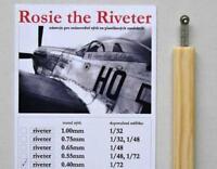 Petr Dousek 1/72 Rosie the Riveter Riveting tool 0.40mm - PDR01