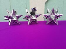 MORAVIAN Mini Tin Star with Marbles 12 Points *** $5.99 Flat Rate Shipping***