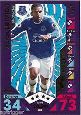 2016 / 2017 EPL Match Attax Base Card (101) Aaron LENNON Everton