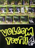 VOLCOM 2008 skateboard LOUIE LOPEZ promo poster New Old Stock Flawless Condition