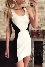 ❤️❤️ Womens BARDOT Brand NWOT Size 10 Black & White Bodycon Dress FREE POST ❤️❤️