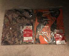 Nwt Mossy Oak Orange Camo And Mossy Oak Camo Gift Bags Set Of Three Total Of 6