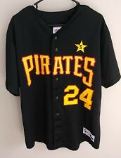 New listing Majestic Pittsburgh Pirates #24 Brian Giles Jersey Men Size XL