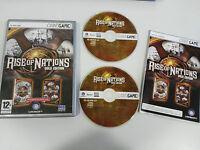 Aufstieg Of Nations Gold Ausgabe Set para PC 2 X Dvd-Rom IN Spanisch - 3T