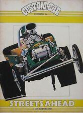 Custom Car magazine November 1980