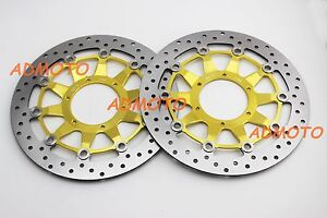 Front Brake Disc Rotors For Honda CBR1000RR 2008 2009 2010 2011 2012 2013 2014