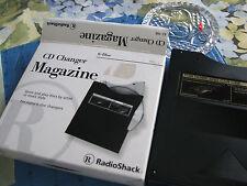 Nib6 Disc Cd Changer Magazine Radio Shack