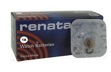 Renata Watch Battery 397 Replaces (SR726SW) 1.55v