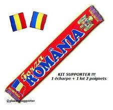 ECHARPE + BRACELET ROUMANIE drapeau maillot scarf schal sjaal sciarpa bufanda