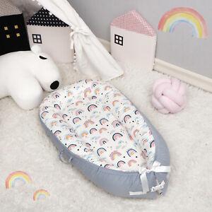 Cartoon Newborn Baby Pod Nest Cocoon Bed Sleep Cushion Sleeping Mat Sleepyhead