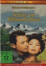SCHNEE EN LA KILIMANJARO Ava Gardner & Gregory Peck RESTAURADO VERSIÓN DVD nuevo