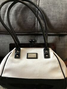 Lulu Guinness handbag Black/ white shoulder bag