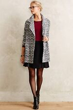 New Anthropologie Graphite Lace Car Coat by Greylin- SZ XS/S