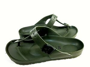 Birkenstock Gizeh Eva 0128271 Unisex Khaki Sandals Men's 8, Womens 10, Eur 41
