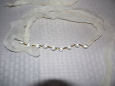 2 YARDS or 6 FEET CUT CRYSTAL CHANDELIER CHAIN OR ROPE PRISM PARTS