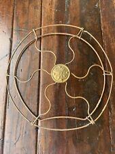 "Antique General Electric 8"" Brass Blades"
