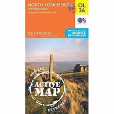 North York Moors - Western Area, Paperback by Ordnance Survey, Like New Used,...