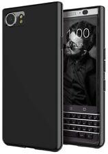 Black Glossy Soft Gel TPU Silicone Case Cover Skin Shell For BlackBerry KeyOne