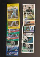Tim Raines Montreal Expos Baseball 30 Card Lot Topps Fleer Donruss