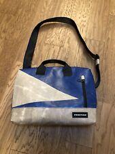 Freitag F301 Moss Laptop Bag Blue And Light Grey