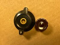 Vintage 1960s Hewlett Packard Large Concentric Knob Set for Model HP 130C (Qty)
