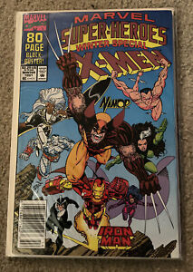 Marvel Super-Heroes Winter Special 1991 #8 1st Appearance Squirrel Girl Comic VF