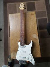 Squire stratocaster travel guitar