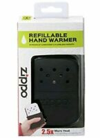 Zippo Deluxe Hand Warmer Back-Refillable w/ Pouch-12 hour 2.5X Heat- Flameless