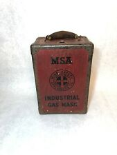 Msa Industrial Gas Mask Mine Safety Pittsburgh Pa Mining Vintage Steampunk