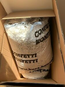 Konfetti weiss - Sack à 10kg