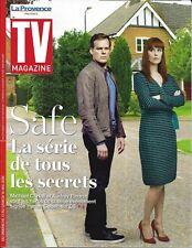 "TV MAGAZINE 13/05/2018  ""Safe"" Michael C.Hall & A.Fleurot_Harry & Meghan_Jenifer"