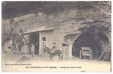 CPA 72 - CHATEAU DU LOIR (Sarthe) - 200. Habitation dans le Roc