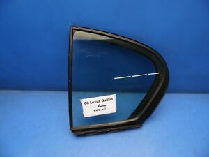 06-11 Lexus GS350 GS460 OEM REAR Left driver side corner quarter window glass