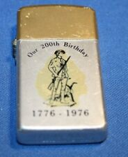 Bi-Centennial 1776-1976 Storm King lighter (SS)