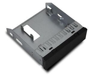 """Einschub Rahmen Einbau Gehäuse 5,25"""" zu 3,5 Zoll Adapter Festplatte PC Computer"""