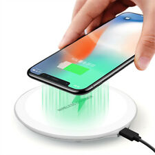 Qi Wireless Charger Charging Dock Pad For iPhone 8 XR XS Max Samsung Note 9 8 5