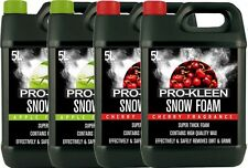 SNOW FOAM CAR SHAMPOO WAX VEHICLE WASH VALET CLEANING SHINE PRESSURE WASHER MIX