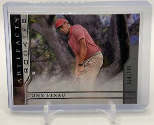 2021 Upper Deck Artifacts Golf Rookies TONY FINAU RC /199 SP True Rookie Card