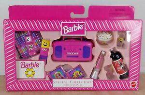 NIB Barbie Special Collection Teen Scene Set #19699 Popcorn Lava Lamp Coca Cola
