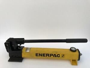 ENERPAC P391 HYDRAULIC HAND PUMP SINGLE SPEED 700 BAR/10,000 PSI