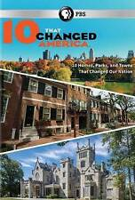 10 That Changed America New DVD! Ships Fast!