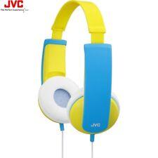 JVC HA-KD5 YELLOW Kids Stereo Headphones with Volume Limiter HAKD5Y /Brand New