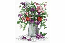 Cross Stitch Kit Flower Lightness M-075