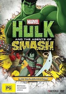 Hulk And The Agents Of SMASH - Into The Negative Zone (DVD, 2016)
